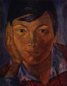 yellow-face-female-face-1921